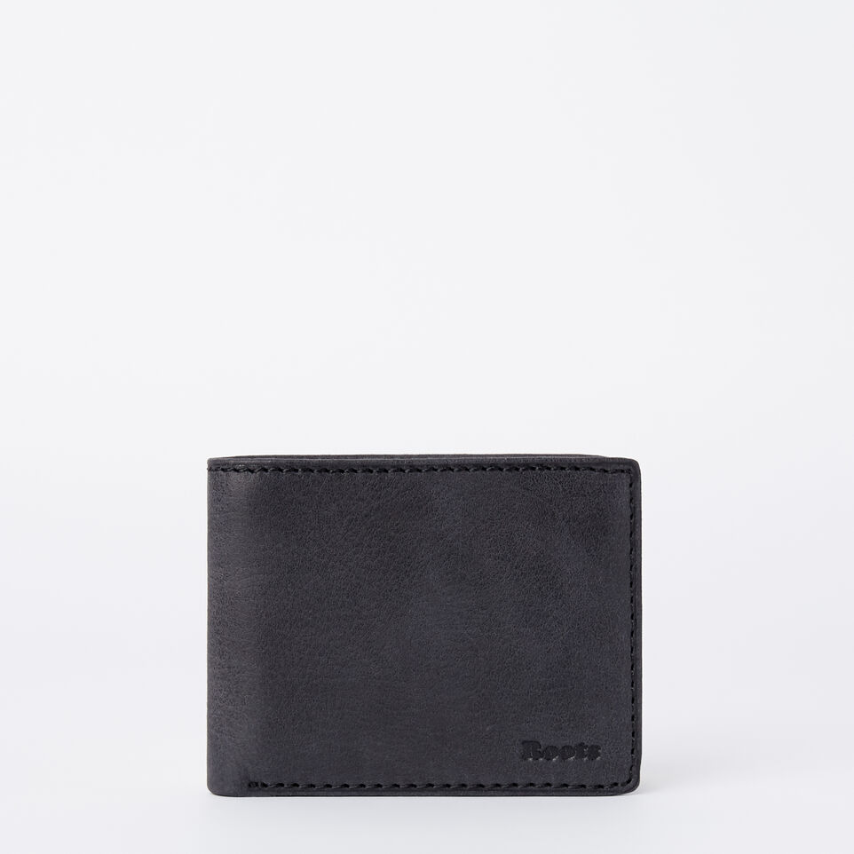 Roots-undefined-Mens Slimfold Wallet With Side Flap Tribe-undefined-A