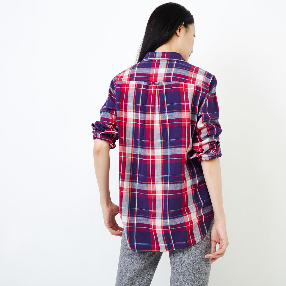 Roots-Women Clothing-All Seasons Relaxed Shirt-Pickled Beet-D