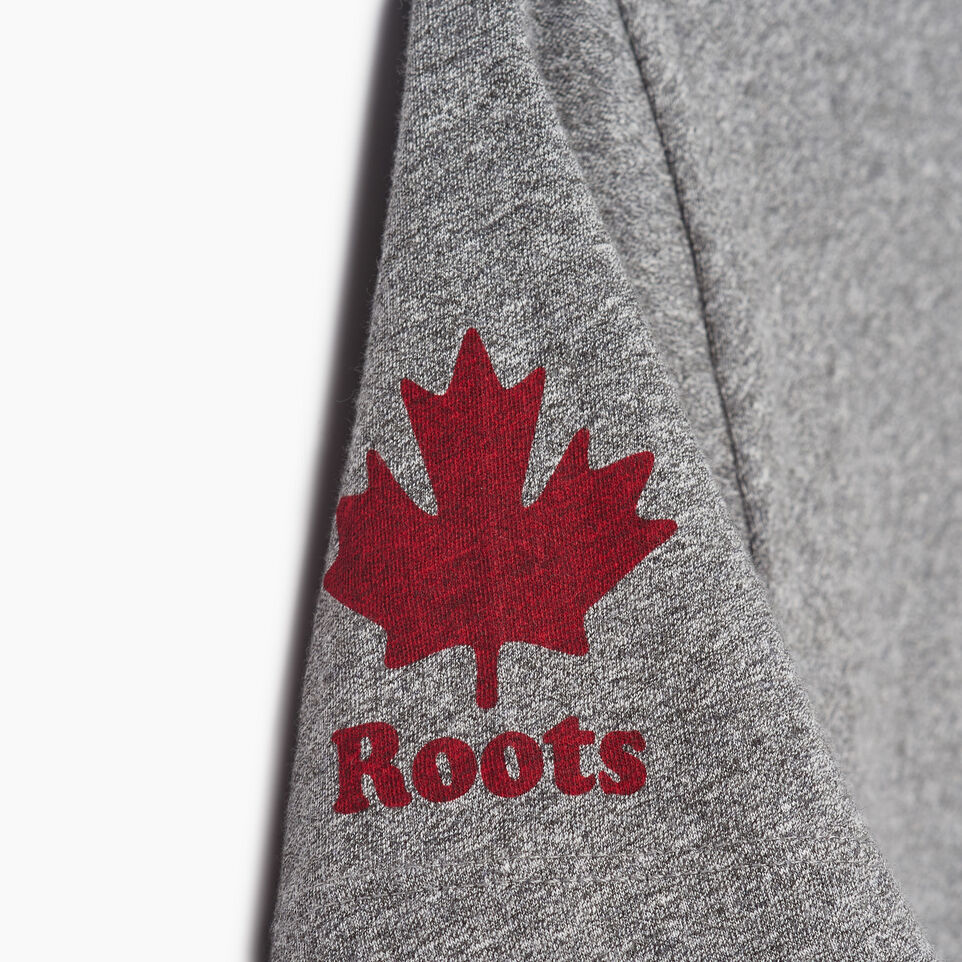 Roots-New For June Canada Collection By Roots™-Womens Roots Canada T-shirt-Grey Mix Pepper-E