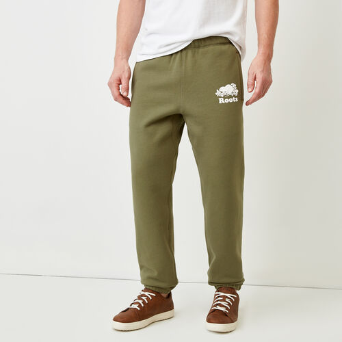 Roots-Men Bestsellers-Original Sweatpant-Lichen-A
