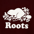 Roots-undefined-Womens Cooper Beaver T-shirt-undefined-D