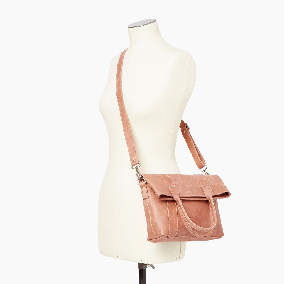 Roots-Leather Our Favourite New Arrivals-Annex Tote-Canyon Rose-B