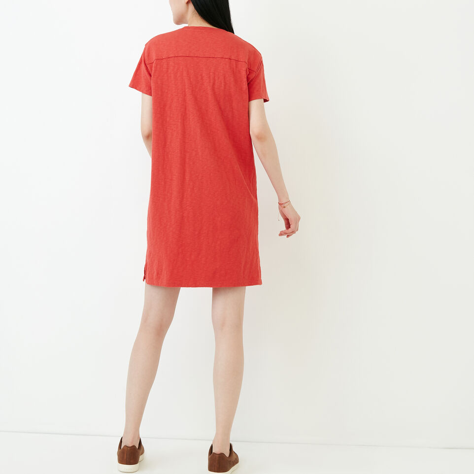 Roots-Women Our Favourite New Arrivals-Madeira Pocket Dress-Baked Apple-D