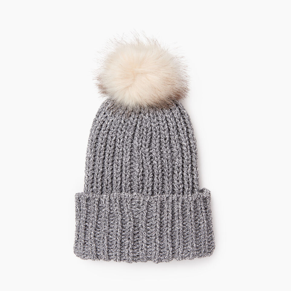 Roots-undefined-Chenille Pom Pom Toque-undefined-C
