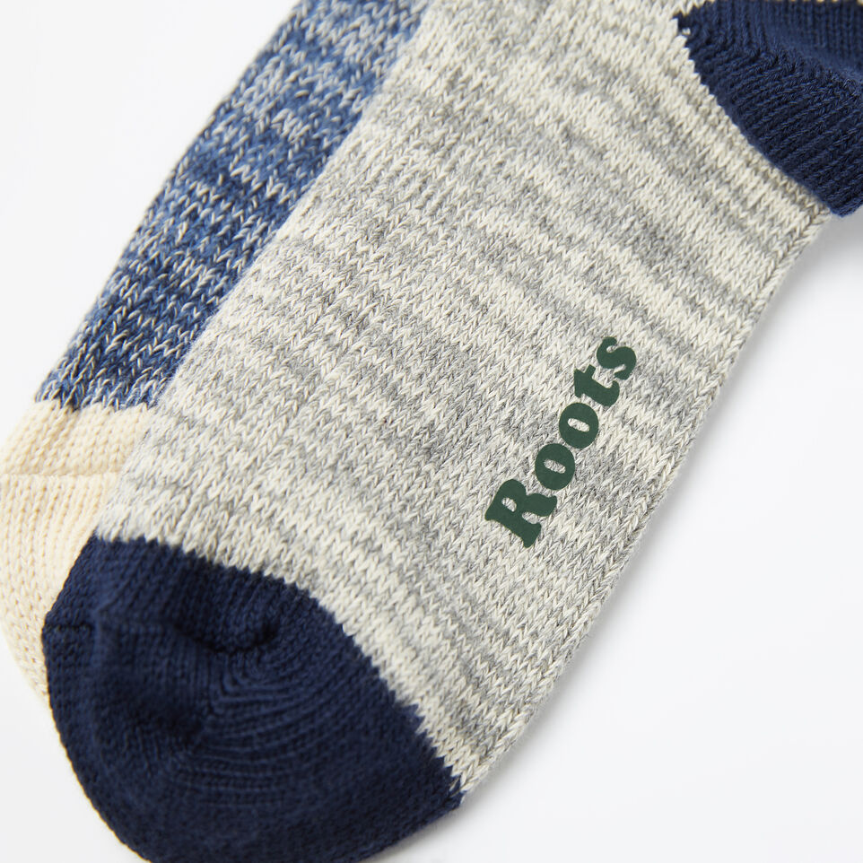 Roots-undefined-Cotton Cabin Sock 2 Pack-undefined-D