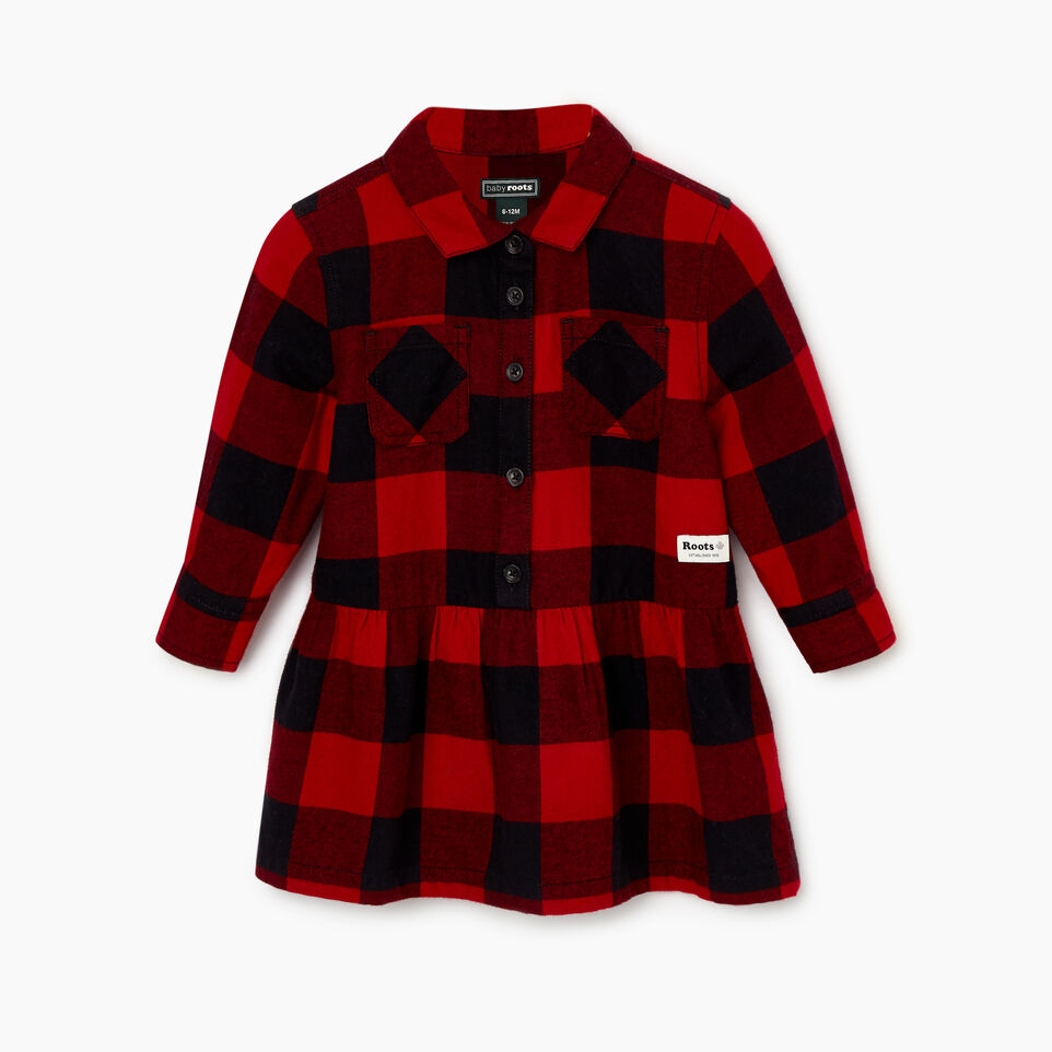 Roots-undefined-Baby Park Plaid Dress-undefined-A
