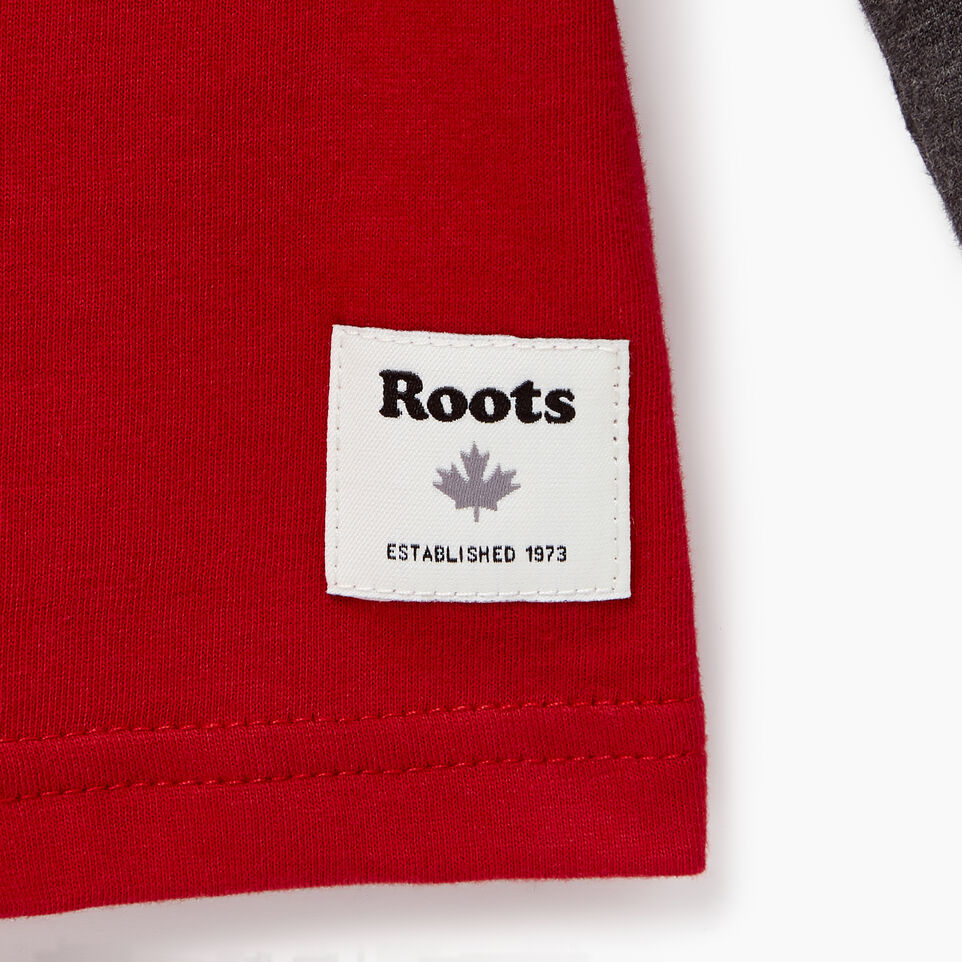 Roots-undefined-Boys Colourblock Pocket T-Shirt-undefined-C