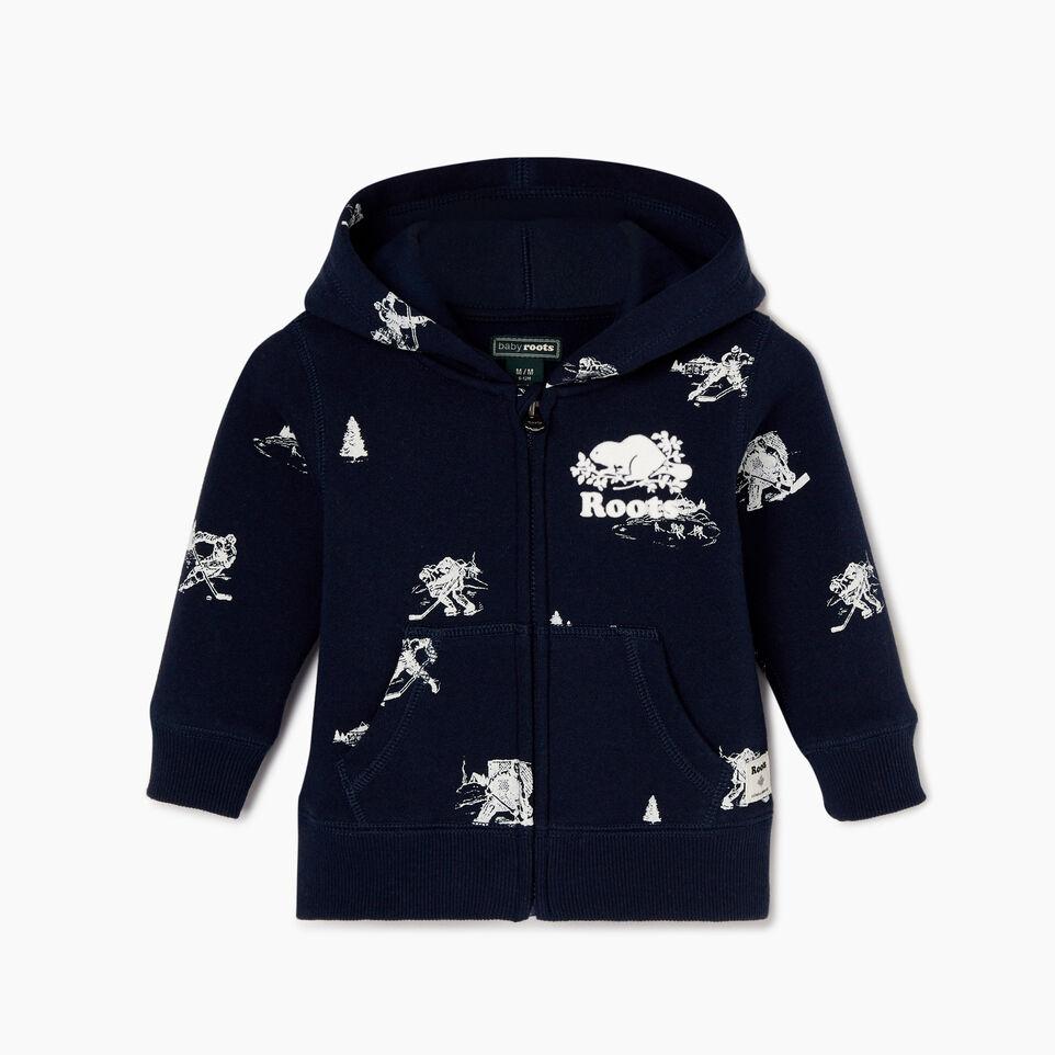 Roots-undefined-Baby Hockey Aop Full Zip Hoody-undefined-A