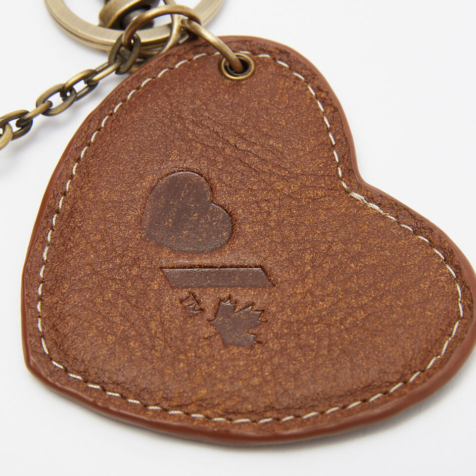 Roots-undefined-Heart & Stroke Heart Keychain Tribe-undefined-C