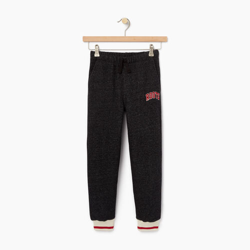 Roots-Kids Boys-Boys Roots Cabin Sweatpant-Black Pepper-A