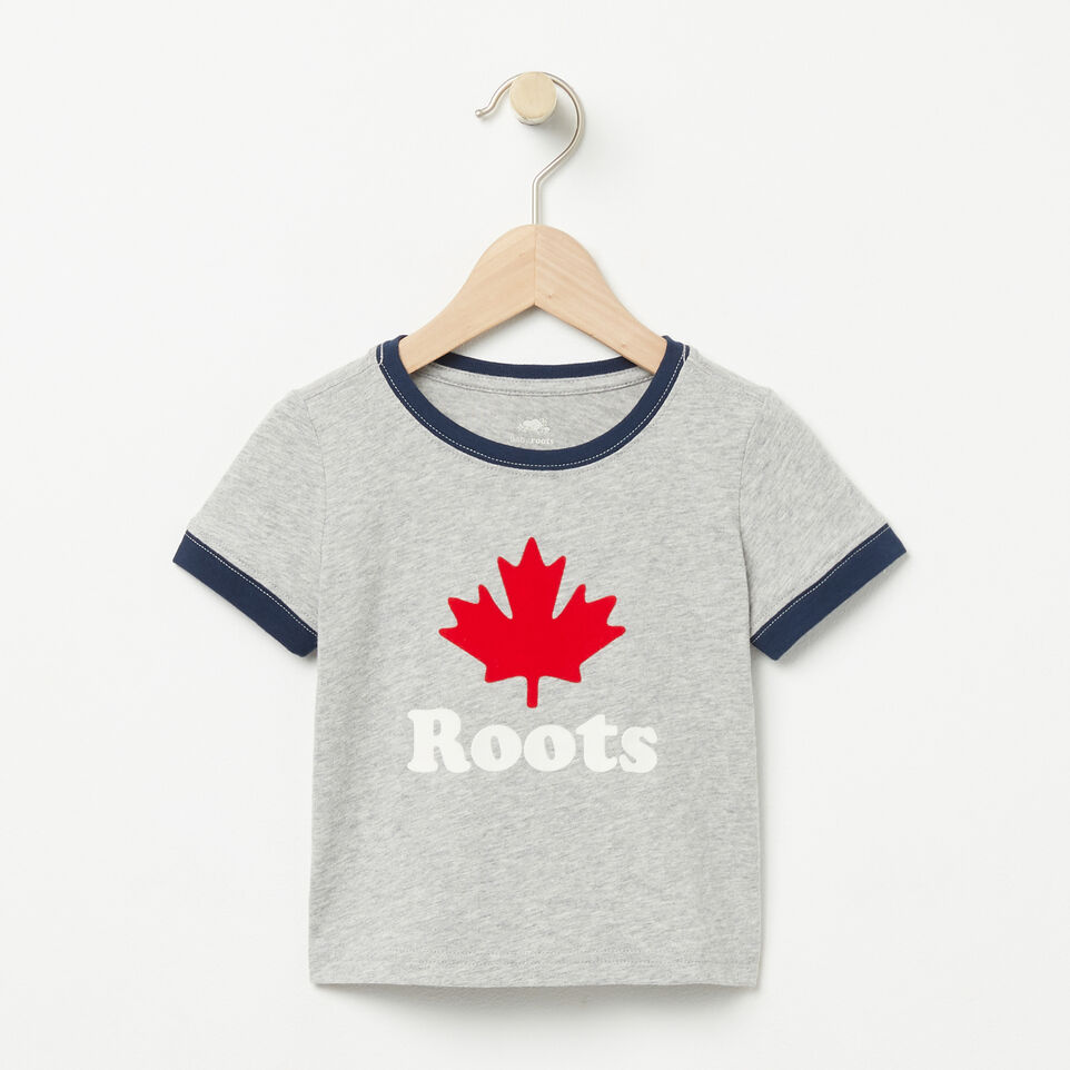 Roots-undefined-Baby Maple Ringer T-shirt-undefined-A