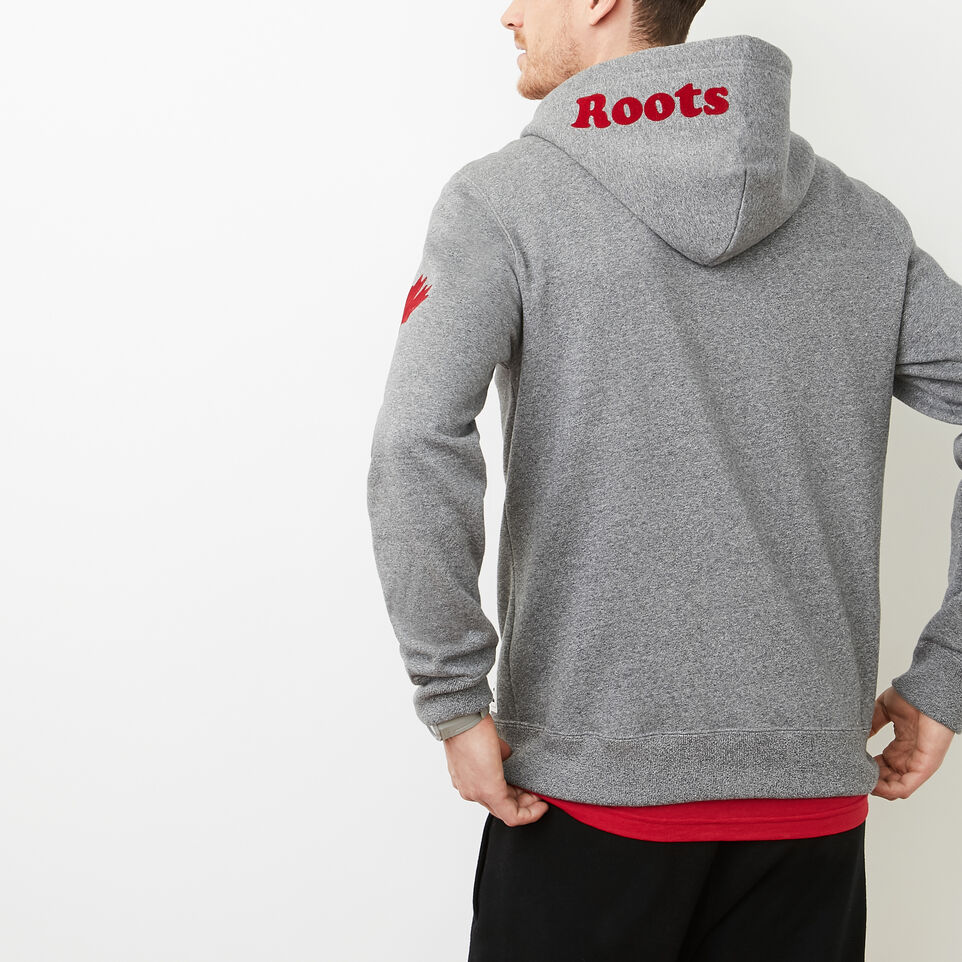 Roots-undefined-Mens Cooper Canada Full Zip Hoody-undefined-D