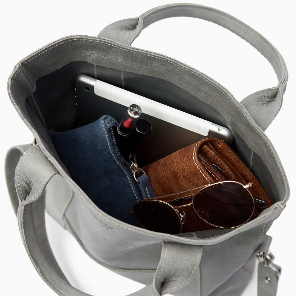 Roots-Leather  Handcrafted By Us Categories-Annex Tote-Quartz-D