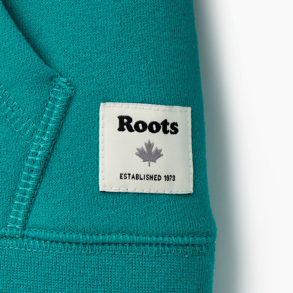 Roots-Kids New Arrivals-Girls Original Kanga Hoody-Dynasty Turquoise-D