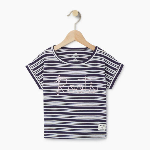 Roots-Kids Our Favourite New Arrivals-Toddler Open Air T-shirt-Eclipse-A
