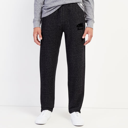 Roots-Men Bottoms-Heritage Sweatpant-Black Pepper-A