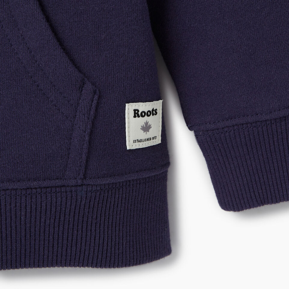 Roots-Kids Our Favourite New Arrivals-Toddler Colour Block Full Zip Hoody-Violet Storm-D