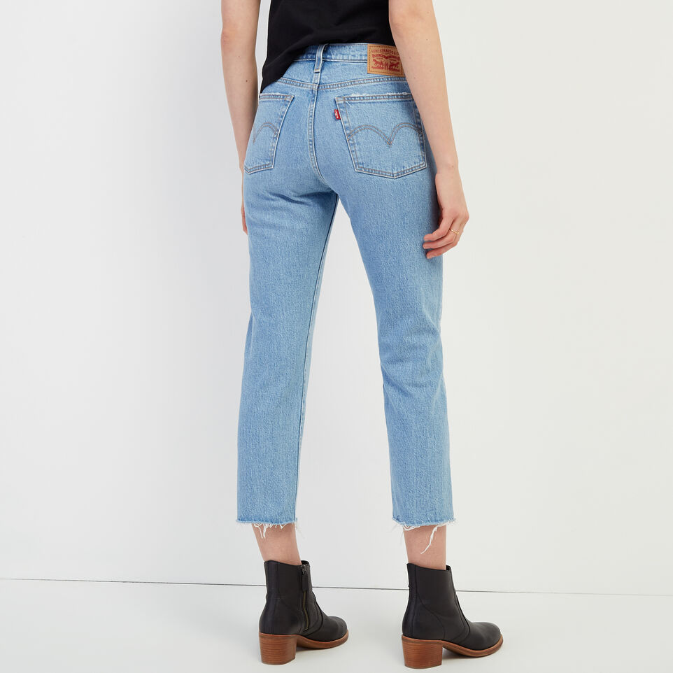 Roots-undefined-Levi's Wedgie Straight Jean-undefined-D