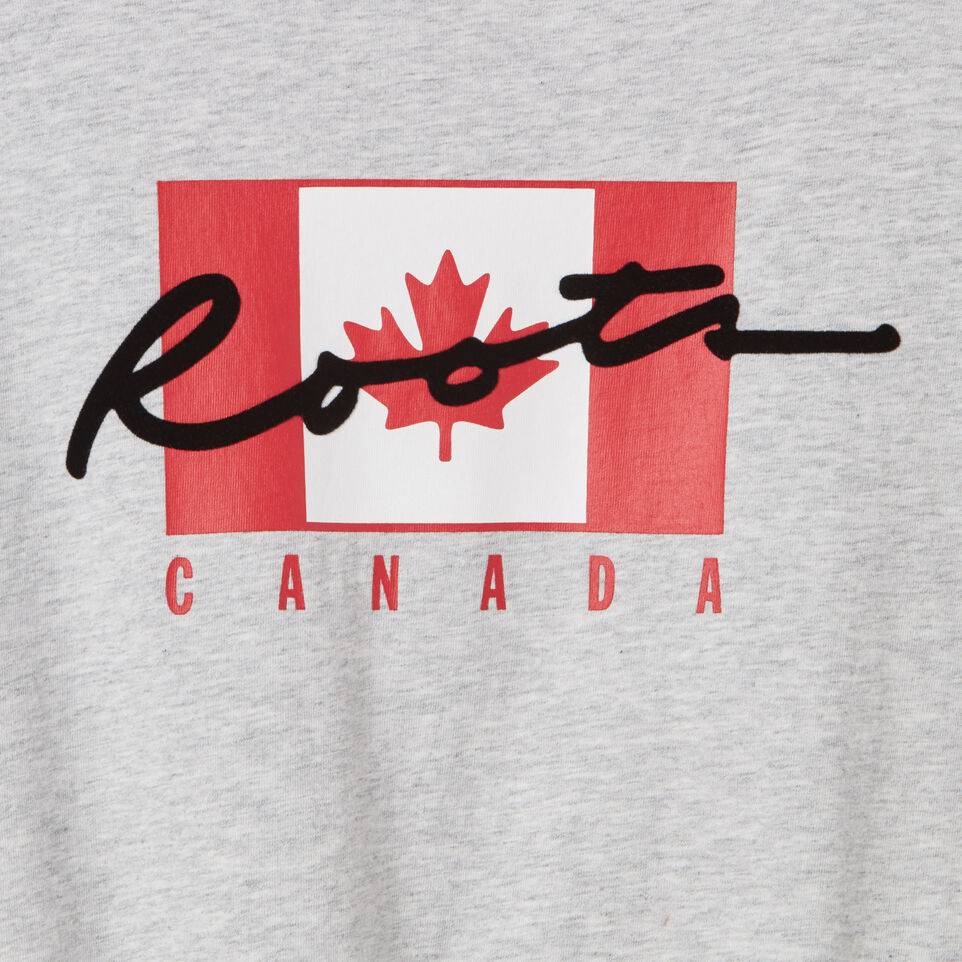Roots-undefined-Girls Canada Flag Script T-shirt-undefined-C