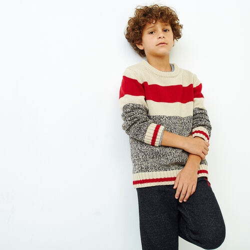 Roots-Kids Our Favourite New Arrivals-Boys Roots Cabin Crew Sweater-Grey Oat Mix-A