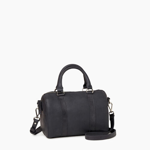 Roots-Leather Collections-City Banff Bag-Jet Black-A