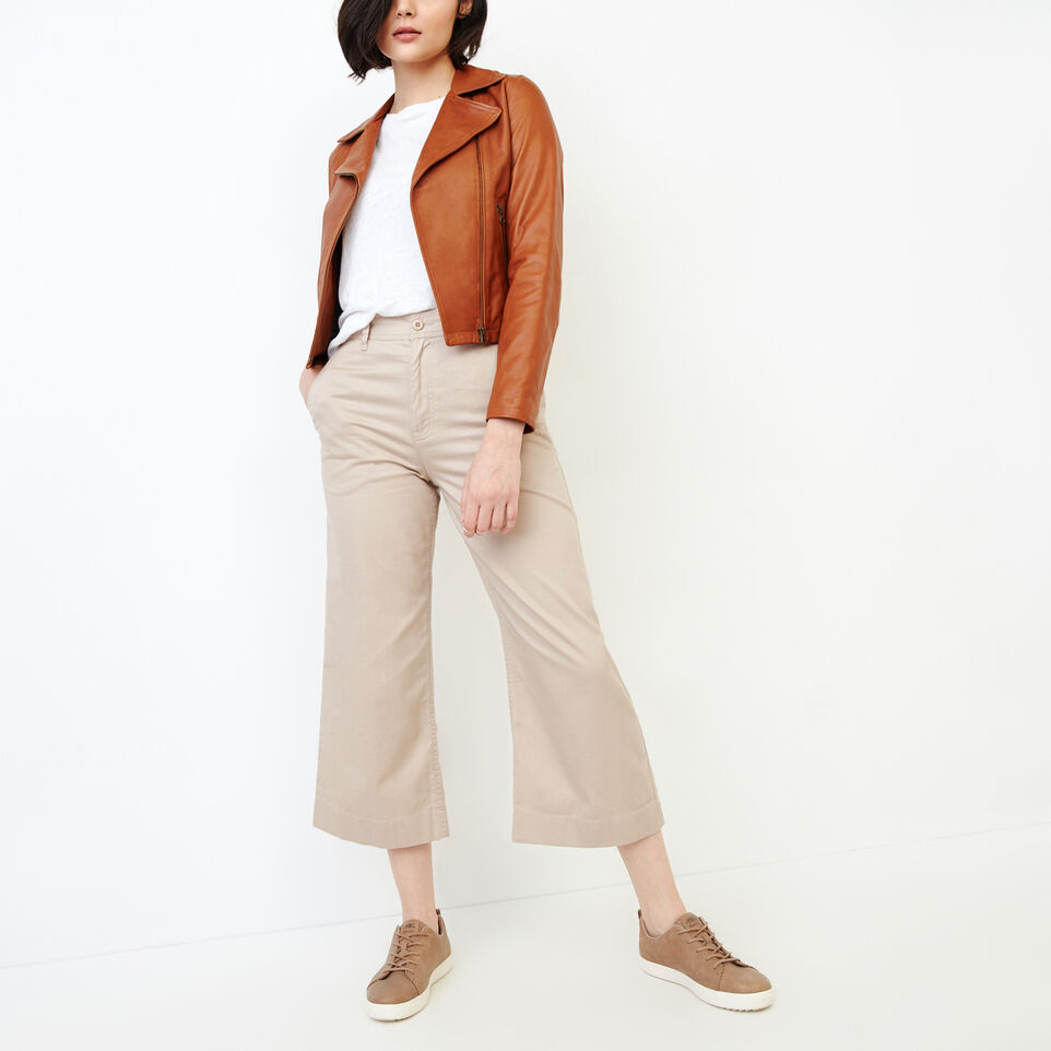 Roots-Women Categories-Widewater Pant-True Khaki-B