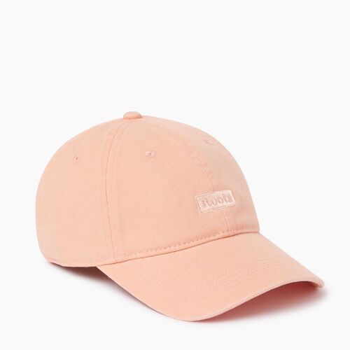 Roots-Women Categories-Annapolis Baseball Cap-Pearl Coral-A