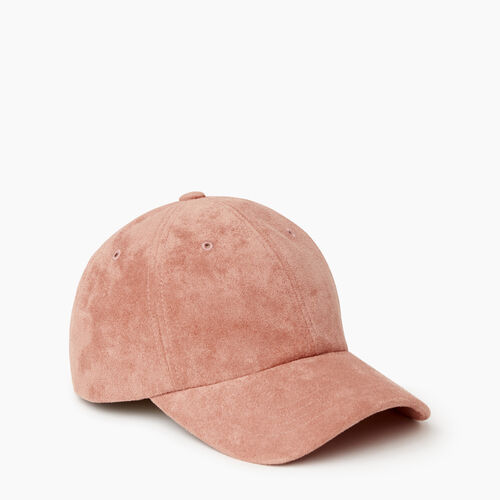 Roots-Women Categories-Alexa Baseball Cap-Pink-A