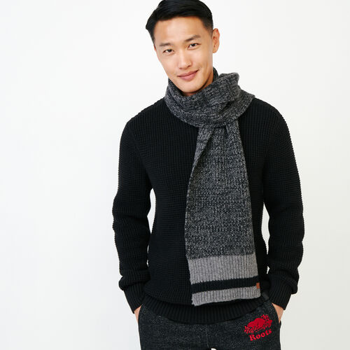 Roots-Men Our Favourite New Arrivals-Roots Cabin Scarf-Black Mix-A