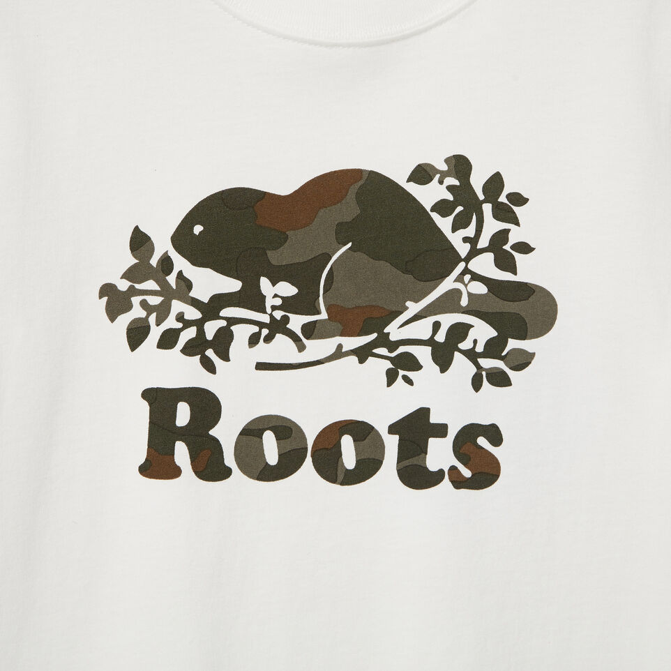 Roots-Kids Our Favourite New Arrivals-Boys Camo Knockout T-shirt-Ivory-D