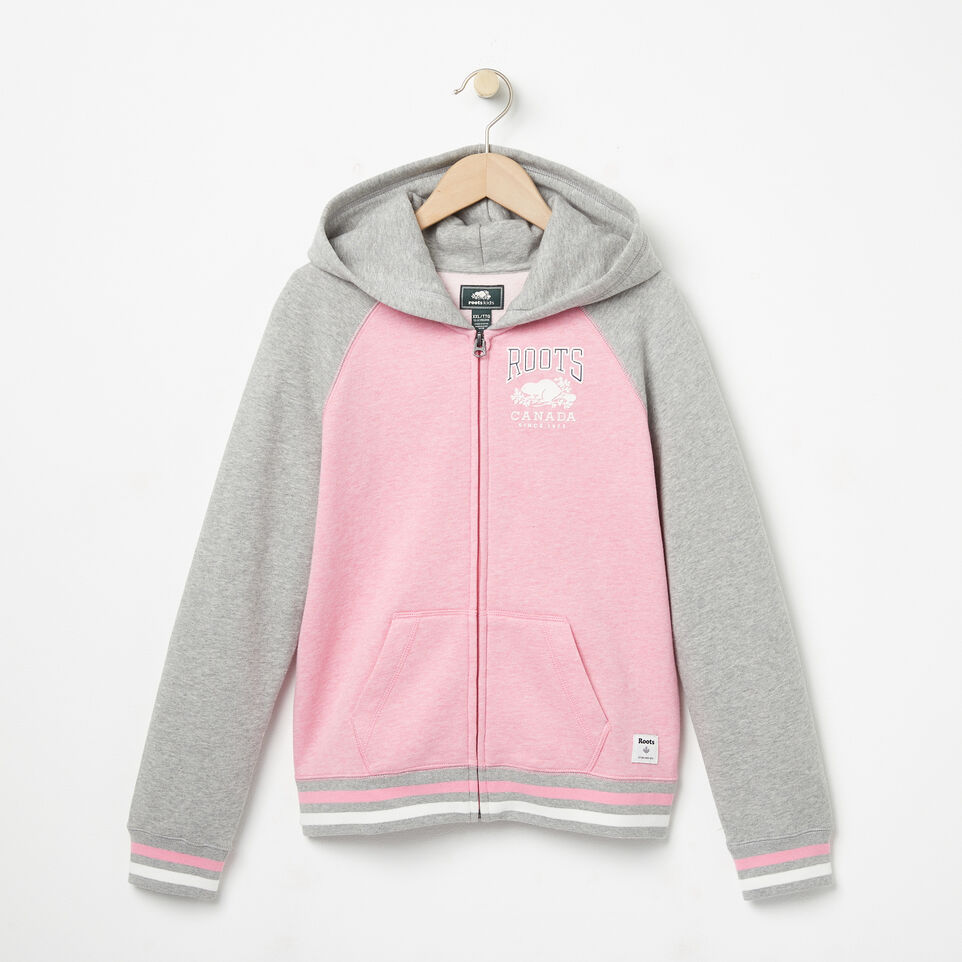 Roots-undefined-Girls RBC Varsity Full Zip Hoody-undefined-A