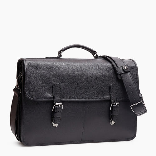Roots-Leather New Arrivals-Roots Original Briefcase Cervino-Black-A