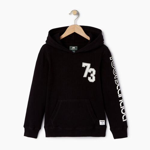 Roots-Kids Our Favourite New Arrivals-Boys Peleton Kanga Hoody-Black-A