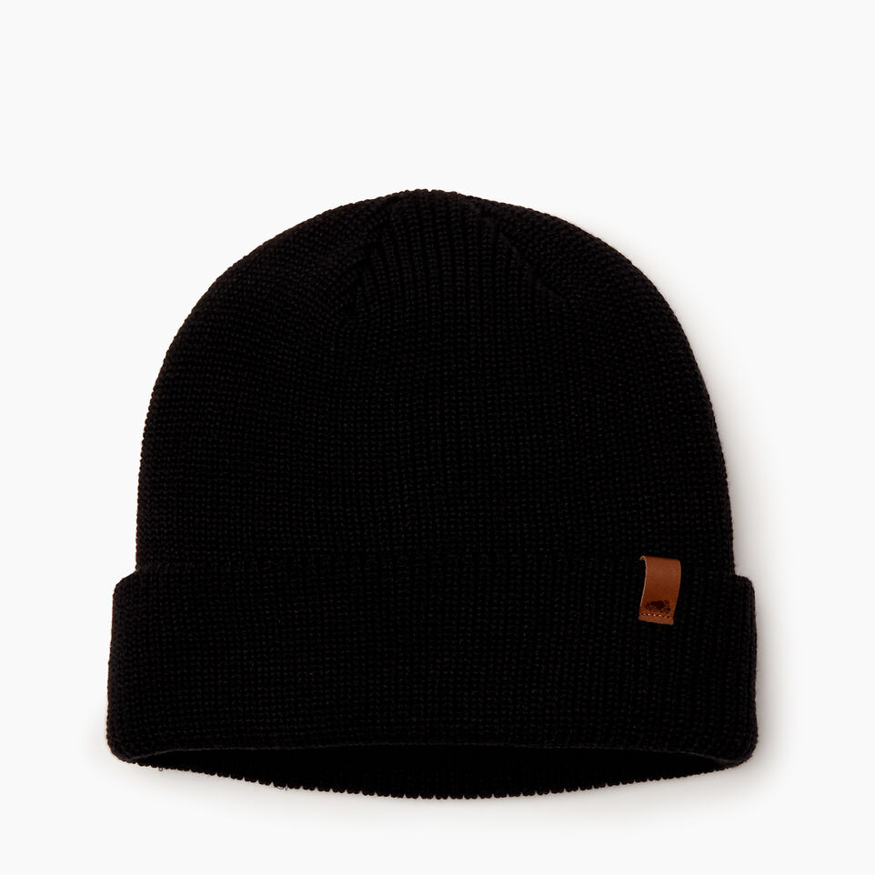 Roots-Men Categories-Hamilton Toque-Black-A