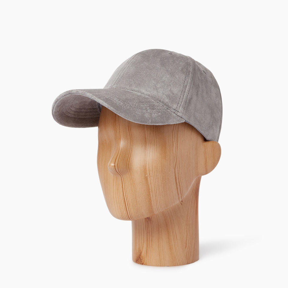 Roots-Women Our Favourite New Arrivals-Alexis Baseball Cap-Grey-B