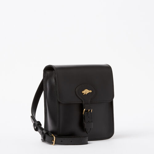 Roots-Women Bags-Money Bag Heritage-Black-A