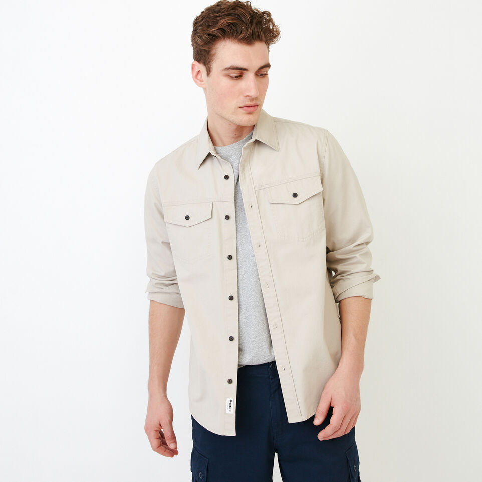 Roots-Men Shirts & Polos-Heatley Long sleeve Shirt-undefined-A