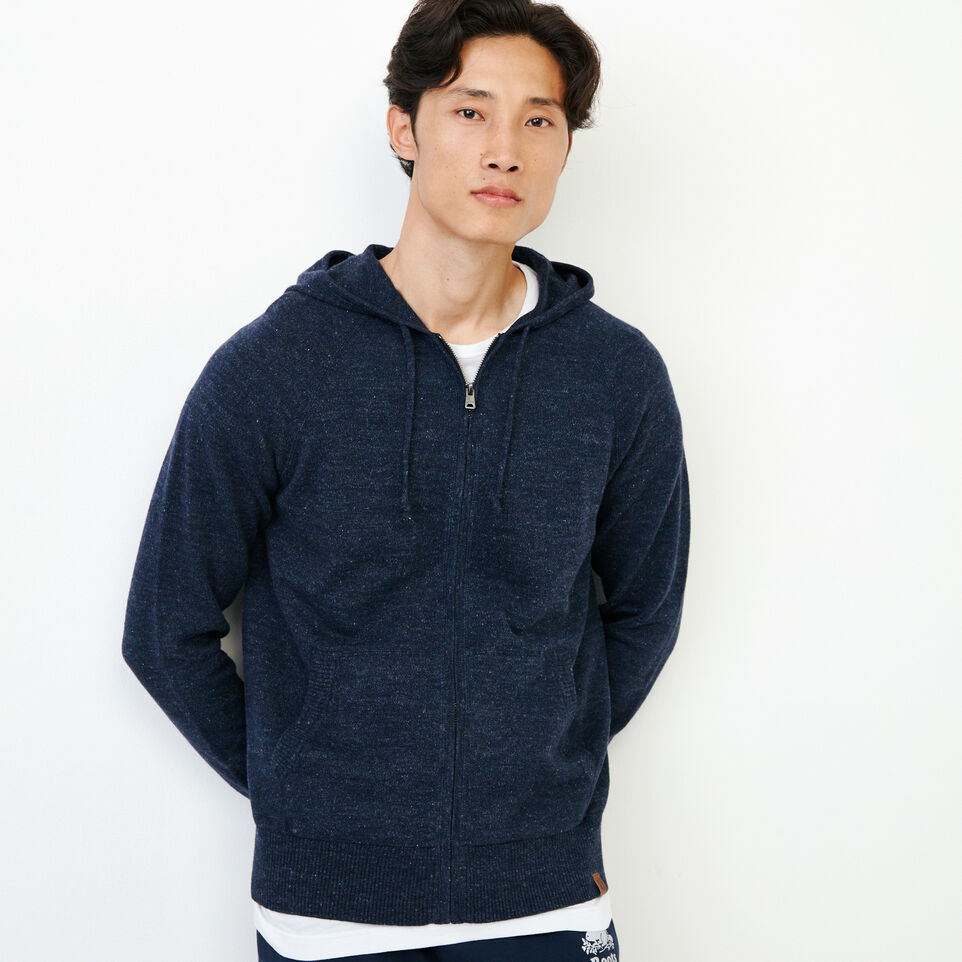 Roots-Men Our Favourite New Arrivals-All Seasons Full Zip Hoody-Navy Blazer Mix-A
