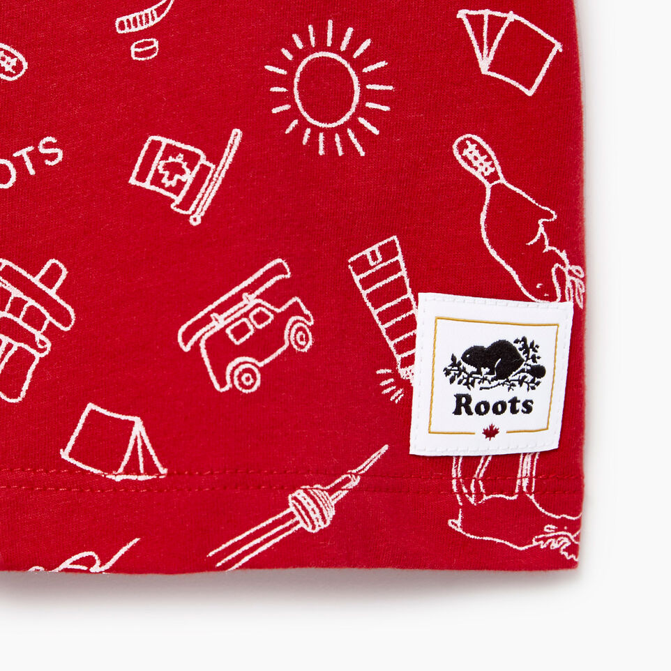 Roots-undefined-Baby Canada Aop T-shirt-undefined-C