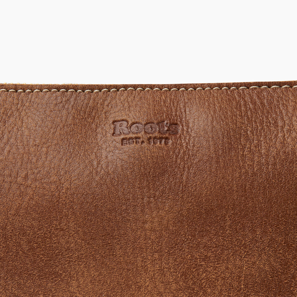 Roots-Leather  Handcrafted By Us Our Favourite New Arrivals-Journey Crossbody Tribe-Natural-E