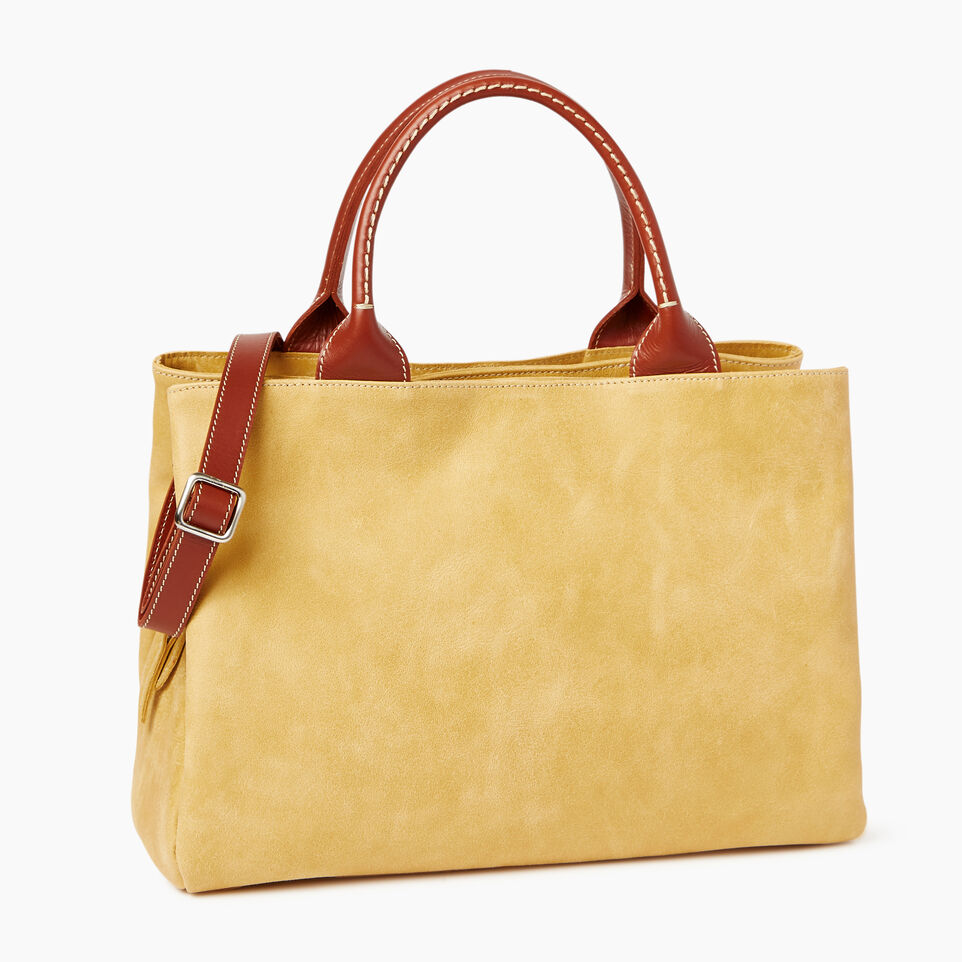 Roots-Leather  Handcrafted By Us Categories-Mont Royal Bag-Medallion/oak-C