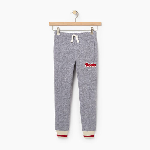 Roots-New For October Kids-Girls Cabin Sweatpant-Salt & Pepper-A