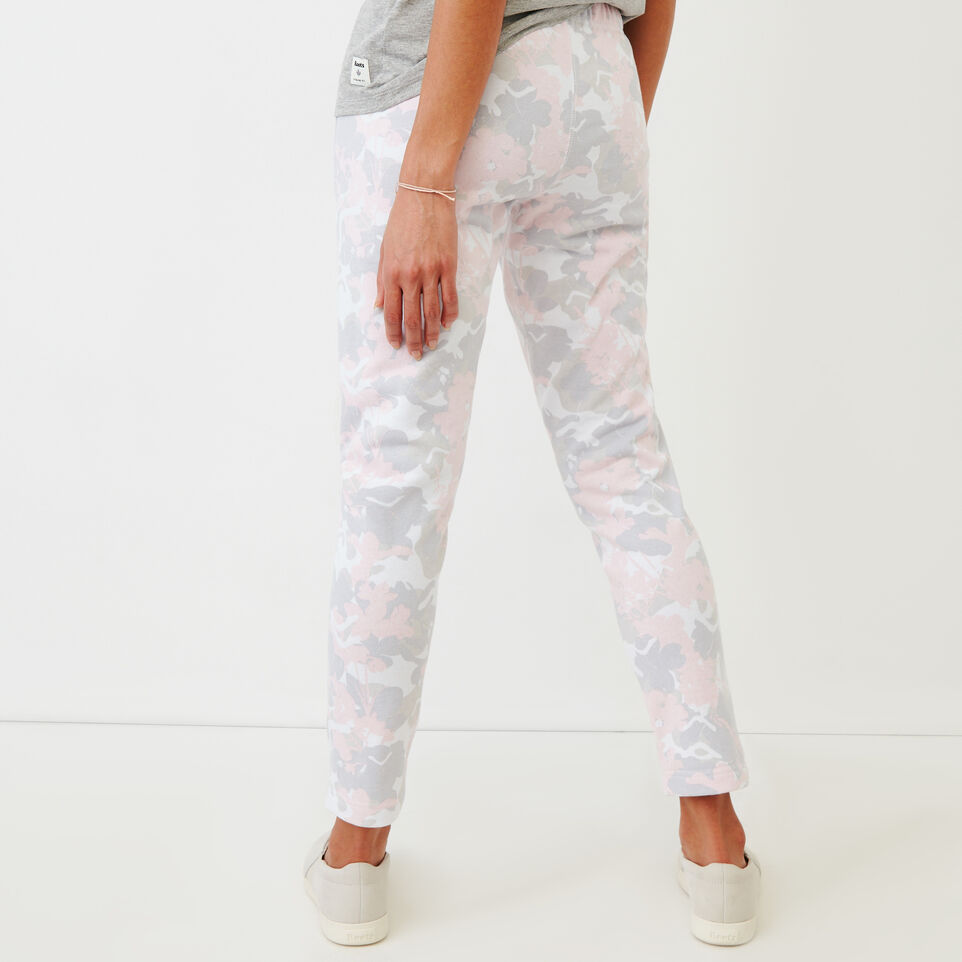Roots-undefined-Floral Easy Ankle Sweatpant-undefined-D