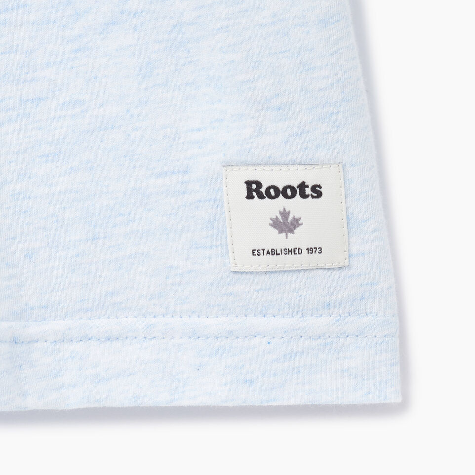 Roots-New For July Men-Mens Canada Cabin Ringer T-shirt-Baby Blue Mix-C