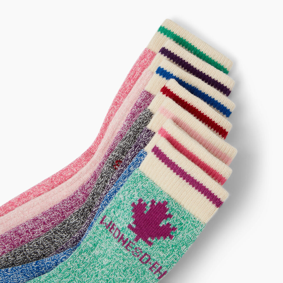 Roots-Kids Our Favourite New Arrivals-Toddler Days Sock 7 Pack-Pink Mix-D