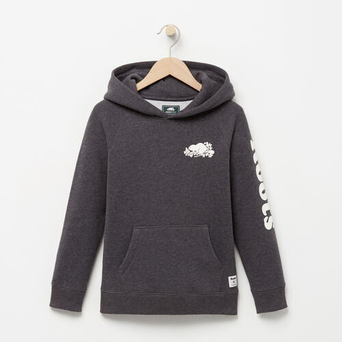 Roots-Winter Sale Boys-Boys Roots Remix Hoody-Charcoal Mix-A