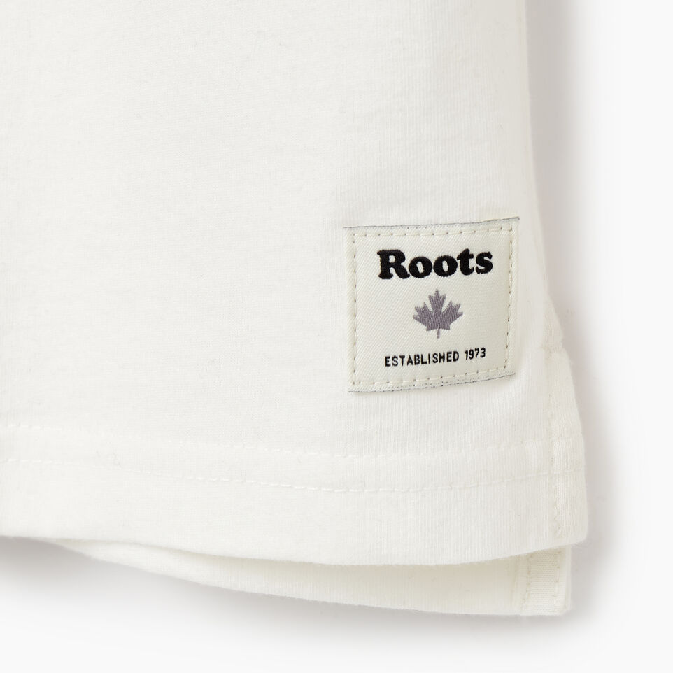 Roots-Kids New Arrivals-Boys 2.0 T-shirt-Ivory-E
