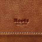 Roots-Women Wallets-Large Chequebook Clutch Tribe-Natural-D