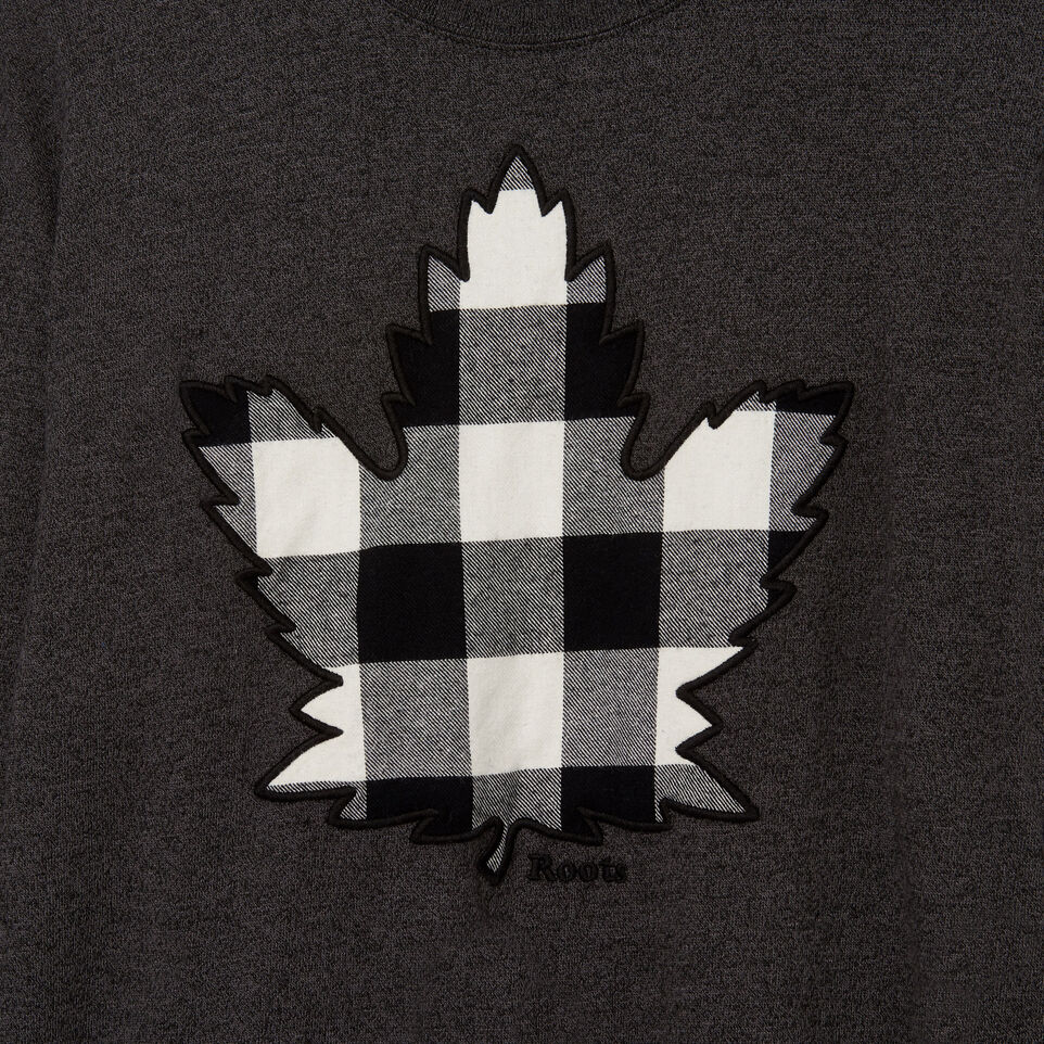Roots-Men Our Favourite New Arrivals-Mens Canuck Plaid Pepper Longsleeve-Black Pepper-D