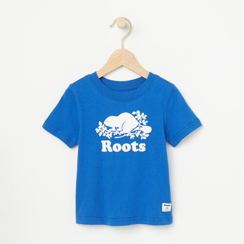Roots-Kids T-shirts-Toddler Cooper Short Sleeve T-shirt-Olympus Blue-A